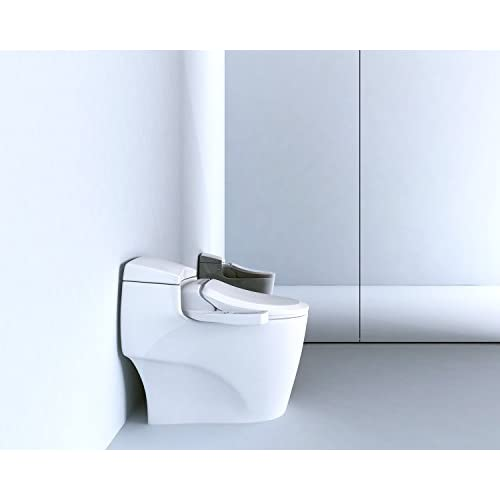 BB-600E BioBidet Ultimate Electric Bidet Seat for Elongated Toilets, White 80%OFF