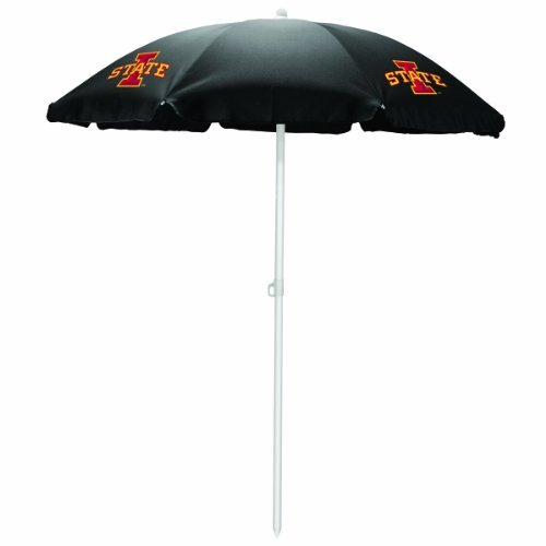 NCAA Iowa State Cyclones Portable Sunshade Umbrella by Picnic Time by PICNIC TIME
