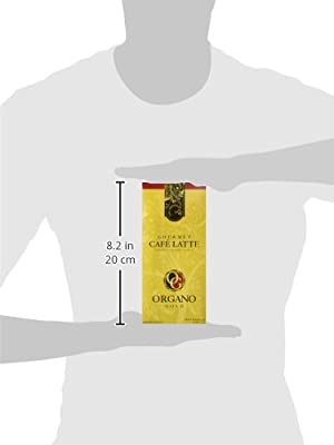 Organo Gold Gourmet Cafe Latte Coffee With Ganoderma Lucidum (1 Box of 20 Sachets) from Organo Gold Coffee