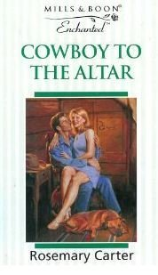 book cover of Cowboy to the Altar
