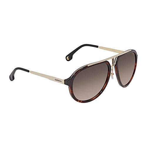 Carrera Men's Ca1003s Aviator Sunglasses, HAVANA GOLD/BROWN GRADIENT, 58 mm ()