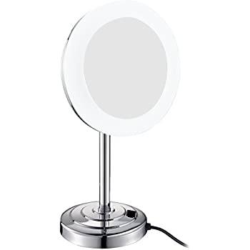 Amazon Com Gurun 8 Inch Led Lighted Tabletop Vanity
