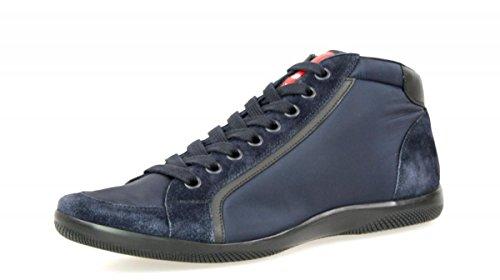 Sneaker In Pelle Prada Mens 4t2866 D7c F0008