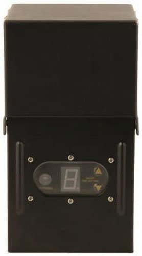 Moonrays 95433 300-Watt Power Pack with Sensor and Weather Shield for Low Voltage Landscape Lighting