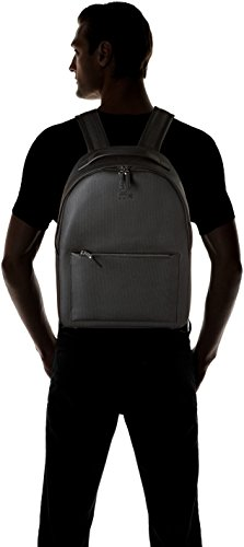 Backpack 5 Nh2704ce cm L 12x42x30 H Lacoste W Black Men's x Twg4cqU