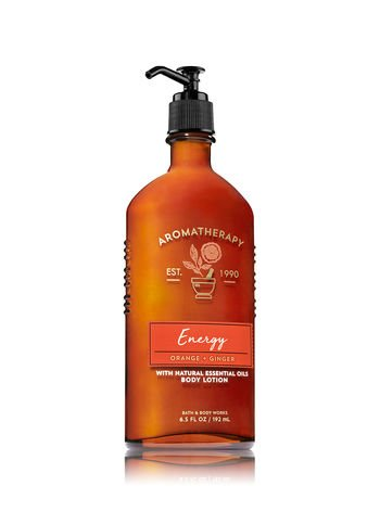 Bath & Body Works Aromatherapy Energy - Orange + Ginger Body Lotion, 6.5 Fl ()