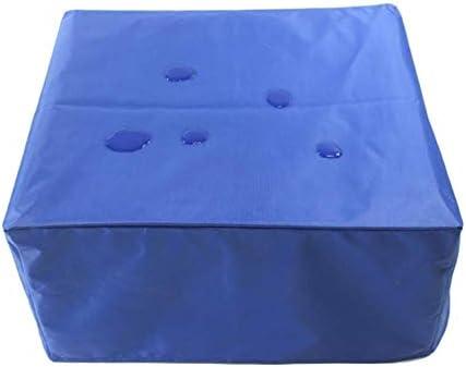 防水カバーガー ガーデン家具カバー アウトドア パティオセットカバー 防水 防風 保護カバー 長方形 、青 シバオ (Size : 320x160x74cm)