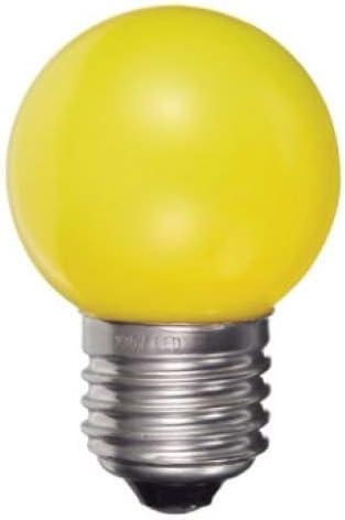 LED para luz cadenas Ping Ball Amarillo 0,5W 200–240V E27