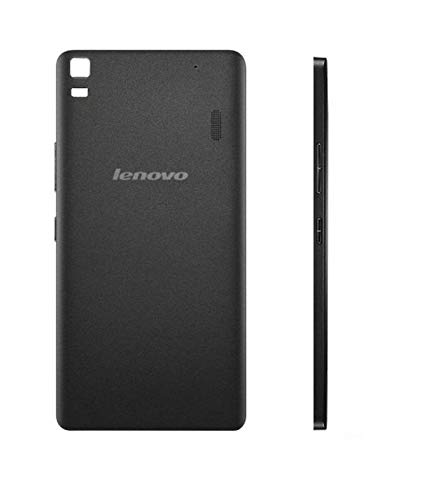 Bouclier Back Panel for Lenovo K3 Note Black Self Adhesive