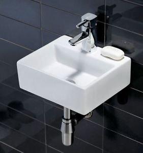 Lavandino Piccolo Per Bagno.Quadrato Moderno Lavandino Lavabo In Ceramica Piccolo Guardaroba Da