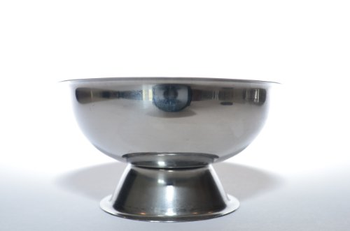 - Pegasus Stainless Steel Shaving Bowl, Curved Chalice