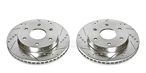 Power Stop AR8640XPR Front Evolution Drilled & Slotted Rotor Pair