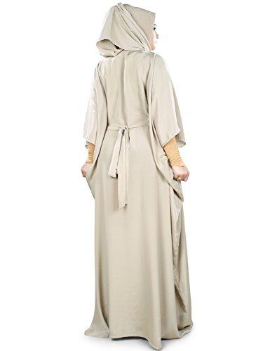 Abaya Kaftan 026 KF Tazmeen MyBatua Muslim Burqa Stil pqRx58atw7
