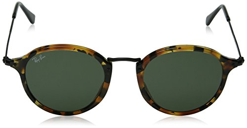 Black Men's Havana Round 0rb2447 Spotted Ray Sunglasses ban 6a7qYwYg
