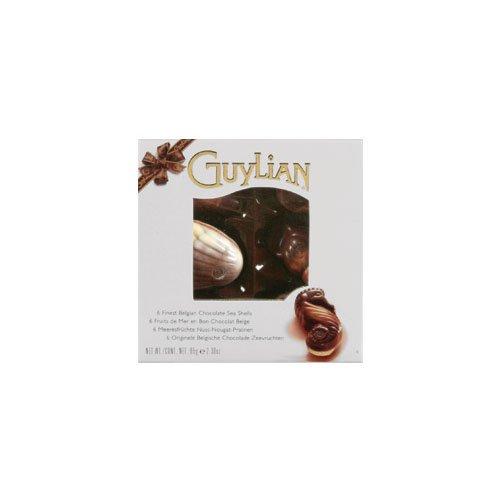 Seashells Window Windows - Guylian Seashell Window 6pc (Economy Case Pack) 2.3 Oz Box (Pack of 12)