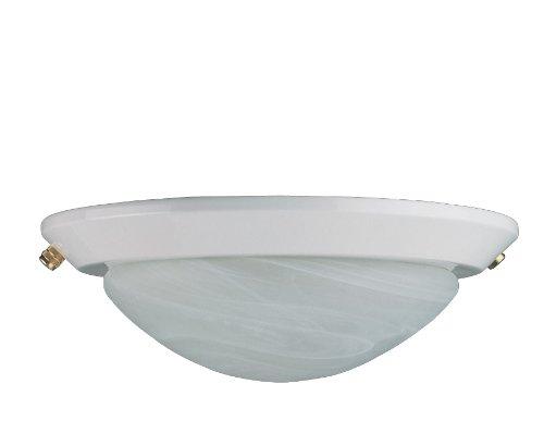 Concord Fans Y-260A-S-WH Lightkit 2 Low Profile Fan Light Kit, White