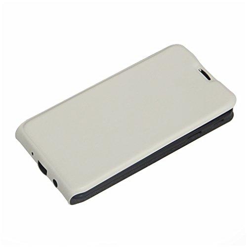 Funda Samsung Galaxy J7 Prime,Manyip Caja del teléfono del cuero,Protector de Pantalla de Slim Case Estilo Billetera con Ranuras para Tarjetas, Soporte Plegable, Cierre Magnético B