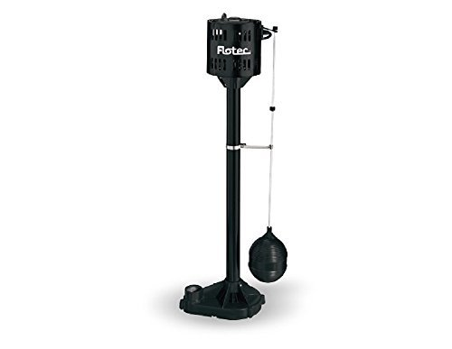 Flotec FPPM3600D-01//09 1//3 HP Pedestal Sump Pump