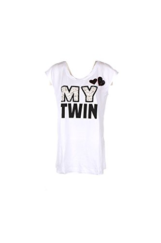 T-shirt Donna Twin-set S Bianco Js7243 Primavera Estate 2017