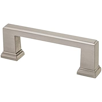 Allen + Roth Gladden 3 In.Center To Center Satin Nickel Cabinet Pull