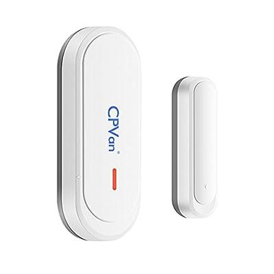 CPVAN Universal Window & Door Sensor for the CPVAN CP1/CP2 Home Alarm System-433MHz