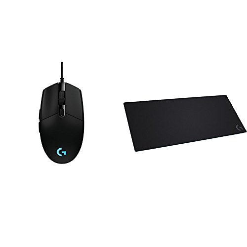 G203 Prodigy RGB Wired Gaming Mouse & Logitech G840 XL Cloth Gaming Mouse Padbundle by Logitech