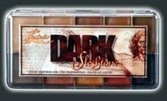 PPI Skin Illustrator Dark Fleshtone Makeup Palette Profession Stage Makeup by Skin Illustrator