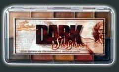 PPI Skin Illustrator Dark Fleshtone Makeup Palette Profession Stage Makeup