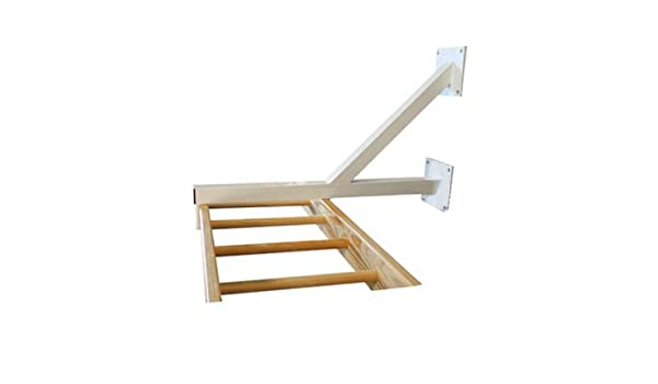 Softee Equipment 0501817 Herraje para Escalera Horizontal, Blanco, S: Amazon.es: Deportes y aire libre