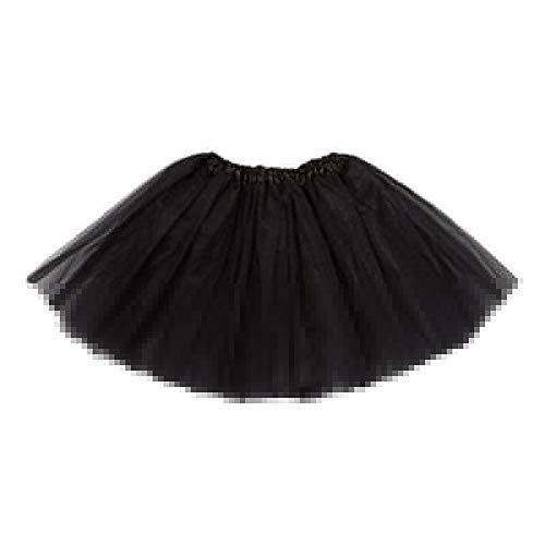 4ddc98dedc Lazzboy Girls Tutu Tulle Ballet Skirt Layers Princess Dress-up Dance Wear  for 2-7 Years Costume Party Kids(2-7 Years,Black): Amazon.co.uk: Clothing