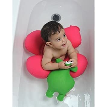 Amazon.com : Papillon Baby Bath Tub Ring Seat, Light Blue : Baby