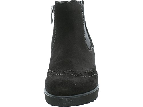 Weite de Negro G negro Botas para ara mujer 71 Piel 41543 schwarz 12 Negro 8PqcOWwTvI