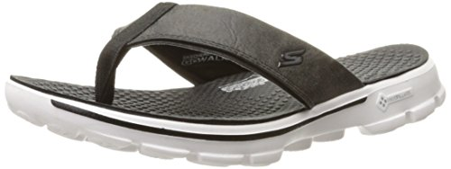 Flop Men's Go Skechers Black Performance Flip White Walk qgwHAS