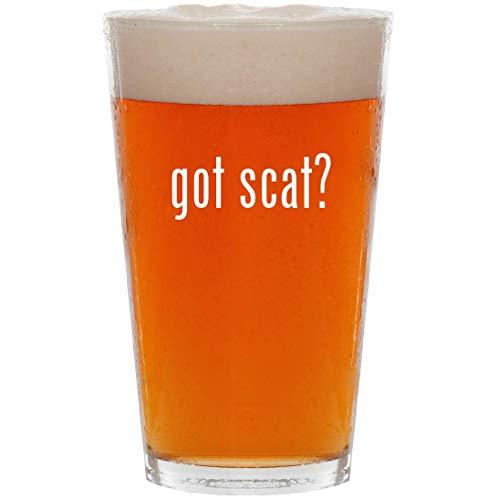 got scat? - 16oz All Purpose Pint Beer Glass