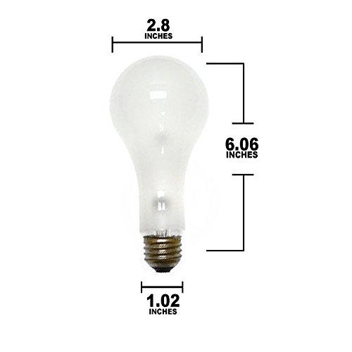 Sylvania 250 watt, nonhalogen, medium voltage Photoflood - ECA 120V model number 13365-SYL