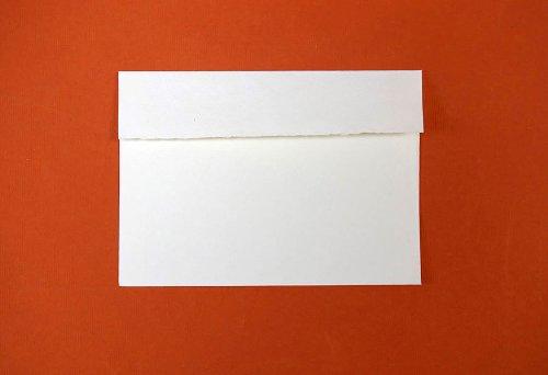 "KHADI Paper White RAG Envelope (20 PCS) Packs C6W 100 GSM 4.5"" X 6.5"""
