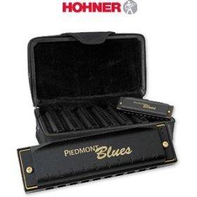 PIEDMONT BLUES 7 PC HARP SET (Hohner Piedmont Blues 7 Harmonica Pack With Case)