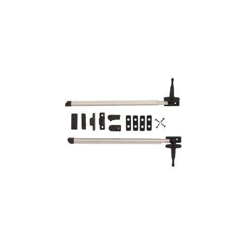 Confezione Self-Service da 2 Pezzi Deflettore Automatico per Finestra da Camper 280 mm in Alluminio Brunner 208//014-1 con Chiusura