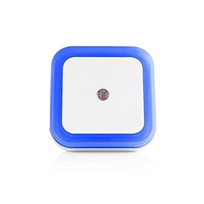 [2 Packs] Konesky LED Night Light Veatool 0.5W Plug-in Wall Lamp with Smart Sensor for Kids Babies Bedroom Nursery