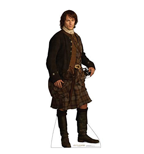 Advanced Graphics Jamie Fraser Life Size Cardboard Cutout Standup - Scottish Version - Starz -