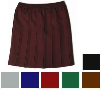 5a55a984e School Uniform Skirt Girls Box Pleat Skirt (15/16 years, Maroon):  Amazon.co.uk: Clothing