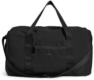多機能軽量ウェットとドライの分離スポーツジムバッグ大容量ポータブルビジネス・トラベル・衣料品収納袋防水設計 HMMSP (Color : Black)