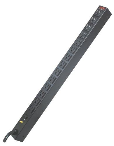 APC AP9551 Rack PDU Basic Zero U 20A/120V Power Distribution by APC