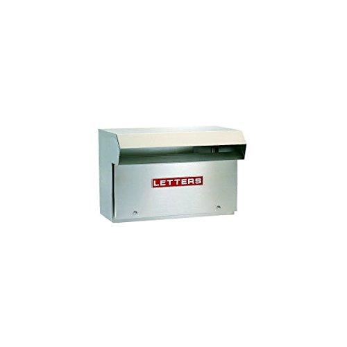 ハッピー金属 ステンレスポスト ファミール640 (フェンス取付専用タイプ) 『郵便ポスト』 ステンレスヘアーライン B00AE1KSRK 11934