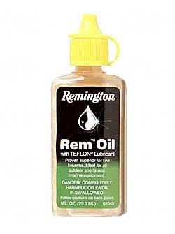 Remington 1 oz. bottle Rem-Oil Liquid 1 oz. Lube 12/Box Clam Pack