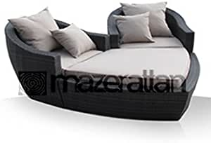 Heart Day Bed From Maze Rattan