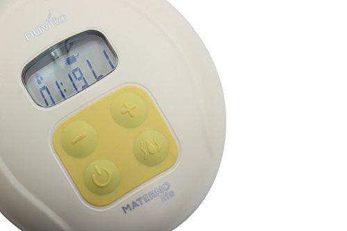 Nuvita Materno Life 1286M Sacaleches Eléctrico - Extractor de Leche Tecnología 2 Fases + 1 - Masaje Automático - 5 Niveles Intensidad - Incluye 1 Botella ...