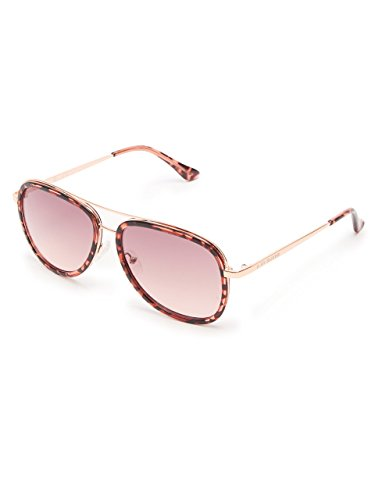 G by GUESS Women's Rose Tortoise Aviator - Sunglasses Guess Pink