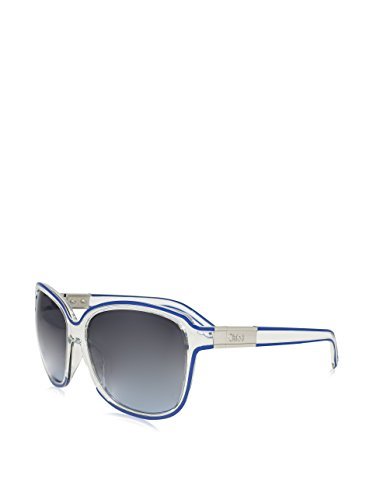 Chloe CE 623S 971 Crystal Blue Plastic Fashion Sunglasses Grey Lens by Chloé