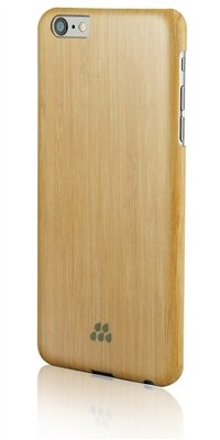 Evutec Wood S Series Sleek Impact Protection Snap Case for The iPhone 6+ Plus in Bamboo (Wood Case Iphone6 Plus)